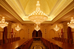 Dining Room Chandeliers (Palace in Saudi Arabia) CRYSTALITE S.L.