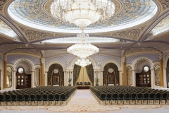 Conference Hall Chandeliers (Conference Hall in Saudi Arabia) CRYSTALITE S.L.